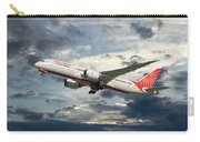 Air India Boeing 787-8 Dreamliner Carry-all Pouch
