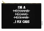 Funny Mechanic Car Auto Apparel Carry-all Pouch