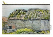 A Barn With A Mossy Roof, Shoreham - Digital Remastered Edition Carry-all Pouch