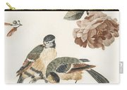 A Blue Tit And A Great Tit By Johan Teyler   1648  1709  2 Carry-all Pouch