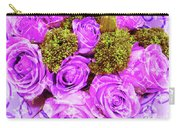 Lv With Lilac Roses  Carry-all Pouch