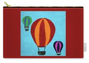 A Bunch Of Hot Air Carry-all Pouch by Deborah Boyd