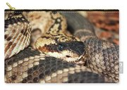 A Close Up Of A Mojave Rattlesnake Carry-all Pouch