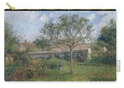 A Corner Of The Meadow At Eragny, 1902 Carry-all Pouch