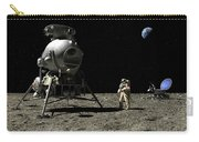 A Cosmonaut On The Moon Carry-all Pouch