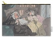 A Counselor's Opinion After He Had Retired From Practice After Thomas Rowlandson British, London 17 Carry-all Pouch