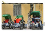 A Cyclo Driver Takes A Nap, In Hoi An, Vietnam. Carry-all Pouch