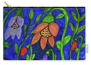 A Flower Garden Carry-all Pouch