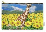 A Friendly Giraffe Hello Carry-all Pouch