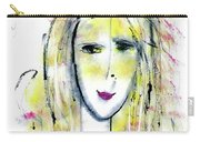 A Girl By The Artist Catalina Lira Carry-all Pouch