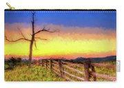 A Gorgeous Blue Ridge Sunrise Ap Carry-all Pouch