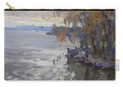 A Gray Fall Day At Fishermans Park Carry-all Pouch