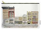 A Greenwich Village Streetscape Carry-all Pouch