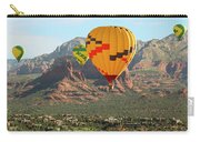 A Hot Air Balloon Foursome Soars Above Sedona, Arizona Carry-all Pouch