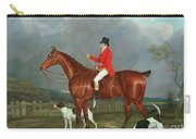 A Huntsman And Hounds, 1824  Carry-all Pouch