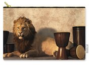 A Lion Among Drums Carry-all Pouch