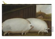 A Pair Of Pigs Carry-all Pouch