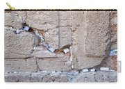 A Piece Of The Wailing Wall Carry-all Pouch
