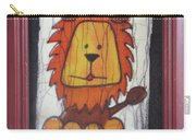 A Red Lion.  Carry-all Pouch