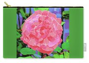 A Rose With Heart Carry-all Pouch by Deborah Boyd