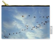 A Skein Of Canada Geese Carry-all Pouch