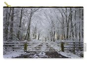 A Snowy Scene Carry-all Pouch