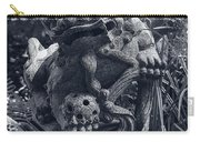 A Stone Gargoyle In The Woods Carry-all Pouch