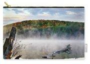 Sunrise Fog Landscape Carry-all Pouch