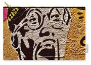 A Terrified Face On A Barcelona Wall  Carry-all Pouch