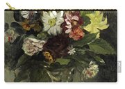 A Vase Of Flowers, 1833 Carry-all Pouch
