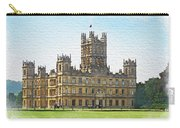 A View Of Highclere Castle 1 Carry-all Pouch by Joe Winkler