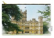 A View Of Highclere Castle 2 Carry-all Pouch by Joe Winkler