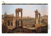 A View Of The Forum Romanum Carry-all Pouch