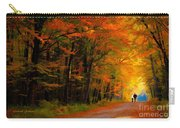 A Walk Through The Autumn Trees 1 Carry-all Pouch