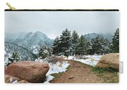 A Winter's Day In The Flatirons Carry-all Pouch