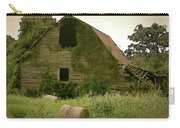 Abandoned Barn And Hay Roll 2018d Carry-all Pouch