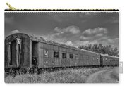 Abandoned Railroad Car In Rural New Brunswick Carry-all Pouch