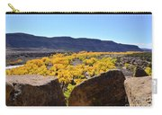 Gorgeous View Of Golden Cottonwood Trees In Canyon Carry-all Pouch