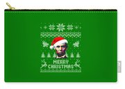 Abraham Lincoln Merry Christmas Carry-all Pouch