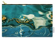 Abstract Boat Reflection V Color Carry-all Pouch
