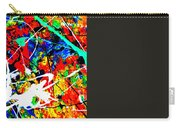 abstract composition K12 Carry-all Pouch