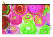Abstract Flower Crowd Carry-all Pouch