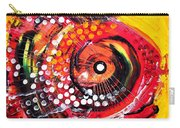 Abstract Lion Fish Carry-all Pouch
