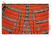Abstract Oranges Blacks Browns Yellows Rows Columns Angles 3152019 5476 Carry-all Pouch
