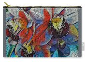 Abstract Orchids.  Carry-all Pouch