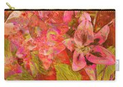 Abstract Pink Lilies Carry-all Pouch