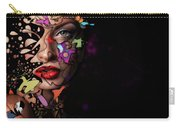 Abstract Portrait No 12 Carry-all Pouch