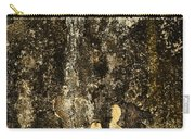 Abstract Scary Ocher Plaster Carry-all Pouch