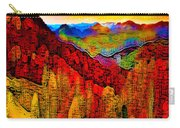 Abstract Scenic 3a Carry-all Pouch