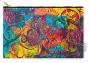 Abstract Splash 1 Carry-all Pouch